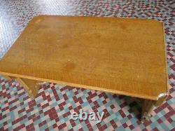 1928 Arts & Crafts Mission White Oak Library / Dinning Room Table 5'-0