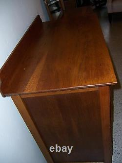 1928 Arts and Crafts/Mission Matching Dresser's with Mirror