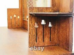 20th C Antique Arts & Crafts / Mission Oak Sideboard / Server Art Nouveau