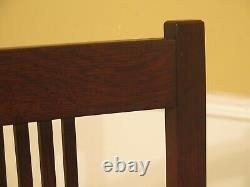 47944EC Set Of 6 STICKLEY Mission Oak Arts & Crafts Dining Chairs