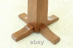 50945EC STICKLEY Mission Oak Pedestal Stand