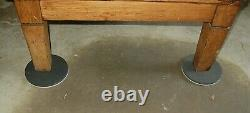 Antique 1912 Mission Oak 11 Drawer Flat Apothecary Map Architect File Cabinet