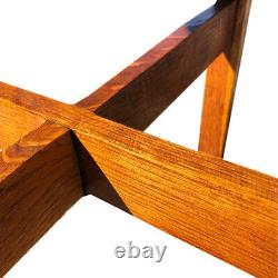 Antique Arts & Crafts Mission Oak Round Farmhouse Table Stickley Roycroft Era