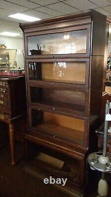Antique Mission Oak 5 Stack 7 Pc. Barrister Lawyer's Bookcase Grand Rapids MI