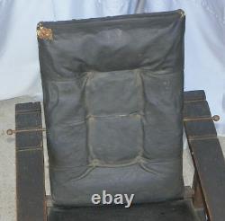 Antique Mission Oak Childs Morris Chair Arts & Crafts