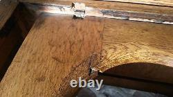 Antique Mission Oak Commode Chamber Pot Chair Potty Toilet Box Wood Seat