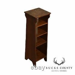 Antique Mission Oak Magazine Stand, Bookcase