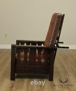 Antique Mission Oak Morris Chair