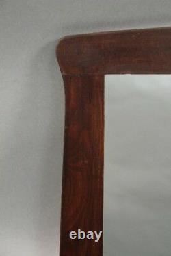 Arts And Crafts Mission Stickley/Limbert Style Circa 1910 Oak Mirror (10620)
