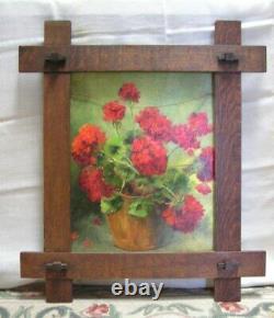 Arts & Crafts Mission Adirondack Oak Frame for 16 x 20 Picture