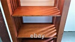 Bookcase MISSION OAK STYLE Arts & Crafts Open Front Vintage Repro, DELIVER 100M