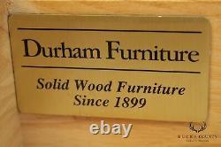 Durham Furniture Mission Oak Style High Chest