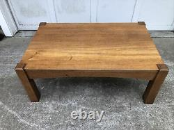 Early Gurstav STICKLEY Mission Oak Arts & Crafts Coffee Table Library table
