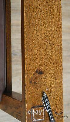 L & J G Stickley Antique Mission Oak Arts & Crafts Morris Chair