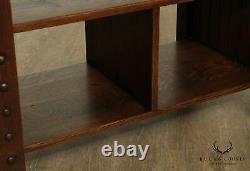 Michigan Chair Company Antique Mission Arts and Crafts Library Table