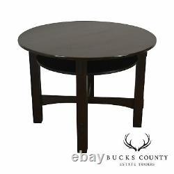 Mission Oak Antique 40 Round Games Table
