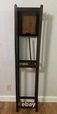 Mission Style Oak Clock