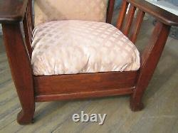 Oak Mission Morris Reclining Armchair by Royal