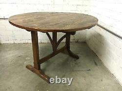 Rustic Antique Mission Farmhouse or Wine Table