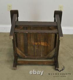 Stickley Brothers Antique Mission Oak Armchair