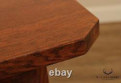 Stickley Mission Collection Oak Argyle Street Bistro Table