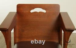 Stickley Mission Collection Oak Limbert Cafe Chair B