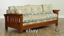 Stickley Mission Collection Oak Orchard Street Sofa