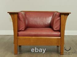 Stickley Mission Collection Oak Prairie Chair