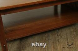 Stickley Mission Collection Oak Spindle Coffee Table