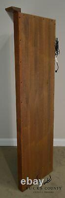 Stickley Mission Oak Collection Leaded Glass Corner Cabinet A