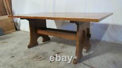 Stickley Mission Oak Dining Room Table Set