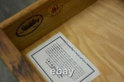 Stickley Oak Mission Collection Rolling File Cabinet