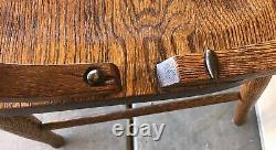 Tiger Oak Bench, 66 Vtg. Bank/ Lawyer Lobby Furniture, Old Oak Mission Benches