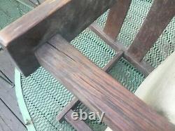 Untouched from Original Home Antique Gustav Stickley Mission Oak Childs Chair