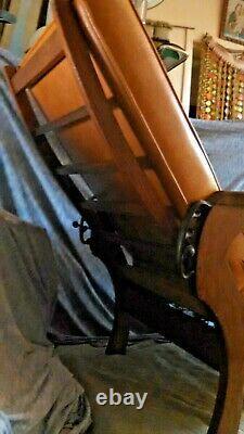 Vintage Mission Oak Morris Recliner Lounge Chair Arts & Crafts Quarter Sawn Wood