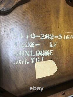 Vintage Mission Solid Oak Wood Banker/Office Arm Chair Antique Gunlocke STYLE B